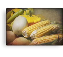 Fine Country Produce Canvas Print