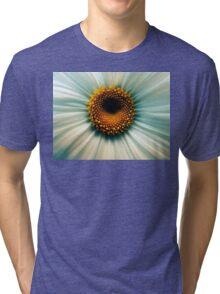 Macro Flower Tri-blend T-Shirt