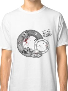 Vampires Don't Do Dishes Classic T-Shirt