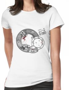 Vampires Don't Do Dishes Womens Fitted T-Shirt