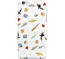 The Life Aquatic with Steve Zissou: Repeat Pattern iPhone Case/Skin