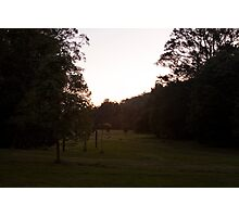 Kangaroo Valley - Sunset view 02 Photographic Print