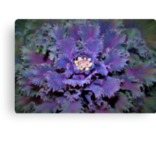 Leafy purple Canvas Print