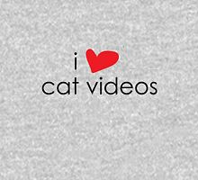 I Heart Cat Videos Women's Relaxed Fit T-Shirt