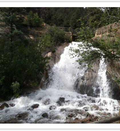 Waldo Canon Waterfall Sticker