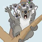 Unbearable Koalas by Thingsesque