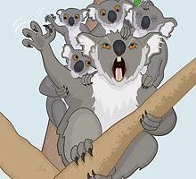 Unbearable Koalas by Thingsesque