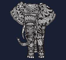 Elephant Aztec Design  Kids Tee