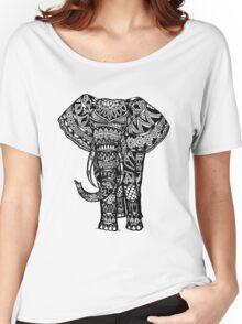 Elephant Aztec Design  Women's Relaxed Fit T-Shirt