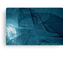 Ribbon Abstract Canvas Print