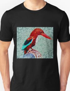 The White Breasted Kingfisher T-Shirt