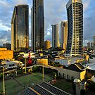Surfers Paradise Sunrise. Gold Coast, Queensland, Australia by Ralph de Zilva