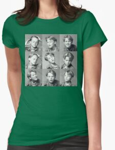 Young Leonardo DiCaprio Womens Fitted T-Shirt
