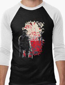 Big Boss (for dark backgrounds) Men's Baseball ¾ T-Shirt