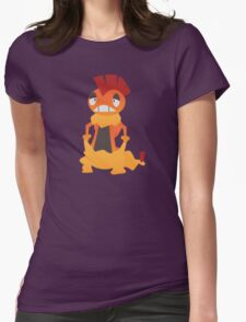 Confused Scrafty... Womens Fitted T-Shirt