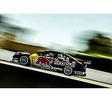 Red Bull V8 Super cars Photographic Print