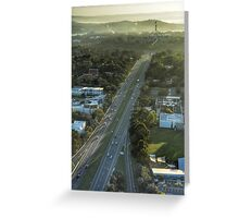 All roads lead to Capital Hill Greeting Card