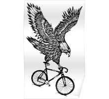 Eagle Ride Bicycle Poster