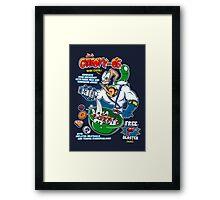 Groovy-Os Cereal Framed Print