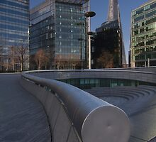 The Shard Building from the South Bank by WillG
