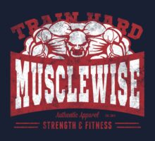 musclewise monster RED/WHITE by musclewise