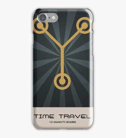 Retro Back To The Future iPhone Case/Skin