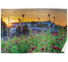 Field of Dreams - Melbourne Cricket Ground (MCG) Poster