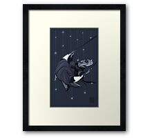 Moonlight Swing Framed Print