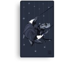 Moonlight Swing Canvas Print