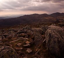 kosciuszko - Summit View 03 by Timothy Kenyon