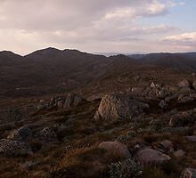 kosciuszko - Summit View 01 by Timothy Kenyon