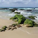 Rocks on Sth Kingscliff .. by gail woodbury