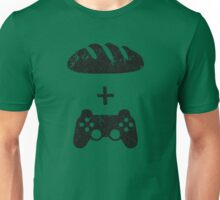 Bread and circuses (bread and video-games) Unisex T-Shirt