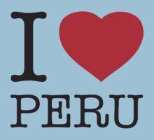 I ♥ PERU Kids Clothes
