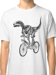 Skeleton Fossil Love Bike  Classic T-Shirt