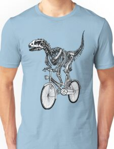Skeleton Fossil Love Bike  Unisex T-Shirt