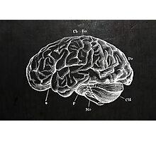 Brain Engraving Photographic Print