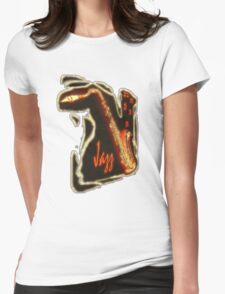 Jazz Time6 Womens Fitted T-Shirt