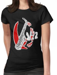 Jazz Time4 Womens Fitted T-Shirt