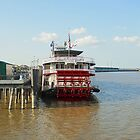 Mississippi River Boat in NOLA by designingjudy