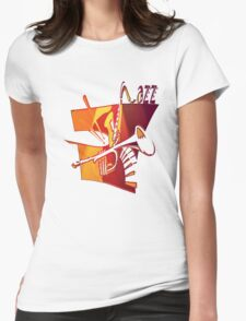 Jazz Time Womens Fitted T-Shirt