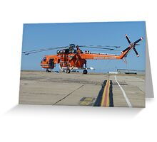 flying-monster collection 017 Greeting Card