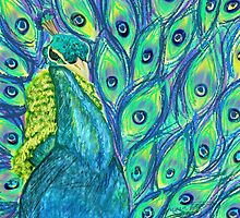 Funky peacock  by pepsirat