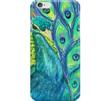 Funky peacock  iPhone Case/Skin