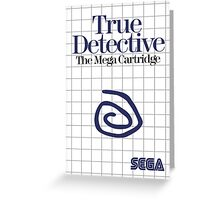 True Detective - Master System Box Art Greeting Card