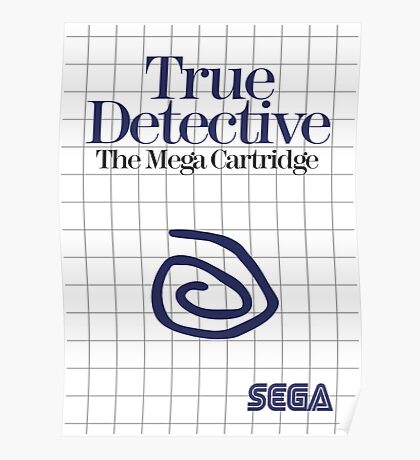 True Detective - Master System Box Art Poster