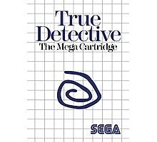 True Detective - Master System Box Art Photographic Print