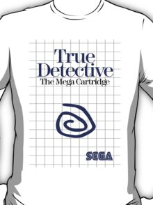 True Detective - Master System Box Art T-Shirt