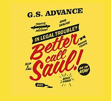 Better call Saul by WahlaBear