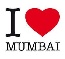 I ♥ MUMBAI Photographic Print